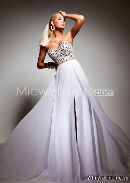 White pageant dresses 2017-2018 » B2B Fashion