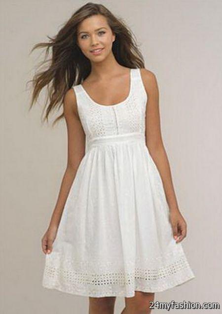 White Summer Dresses For Women 2017-2018 | B2B Fashion