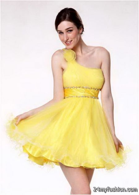 Yellow Prom Dresses For 2018 79
