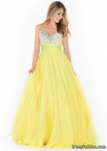 Yellow Prom Dresses For 2018 25