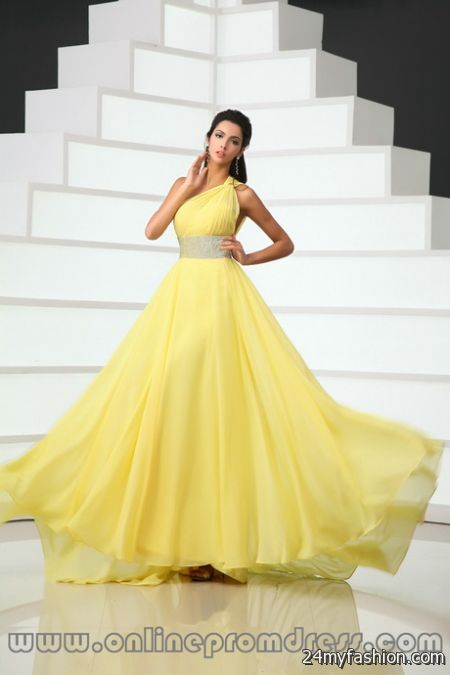 Yellow Prom Dresses For 2018 69