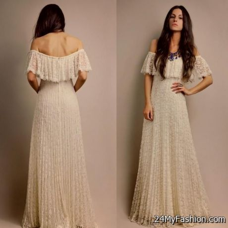1970s Style Prom Dress