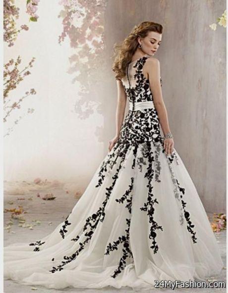 Beautiful Black Lace Wedding Dresses 2017 2018 B2b Fashion