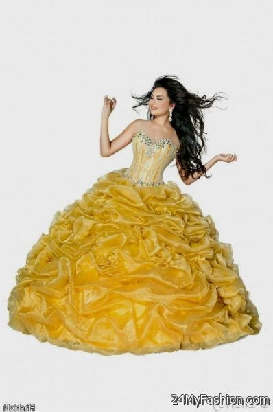 Beauty And The Beast Dress For Quinceanera 2017 2018 B2B