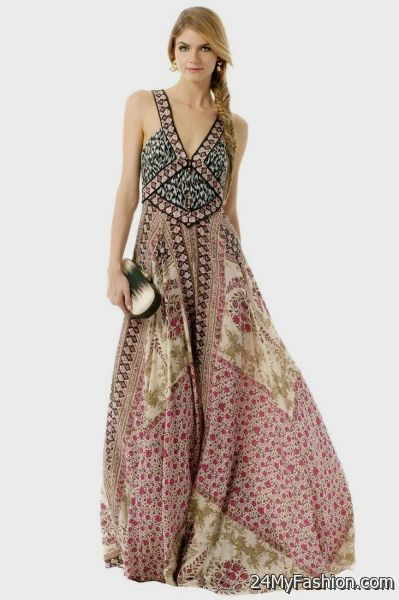 Boho chic maxi dresses