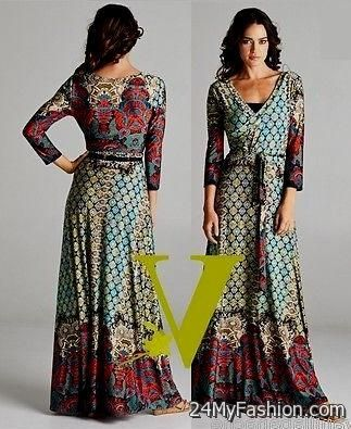 boho maxi dress plus size 2017-2018 | B2B Fashion