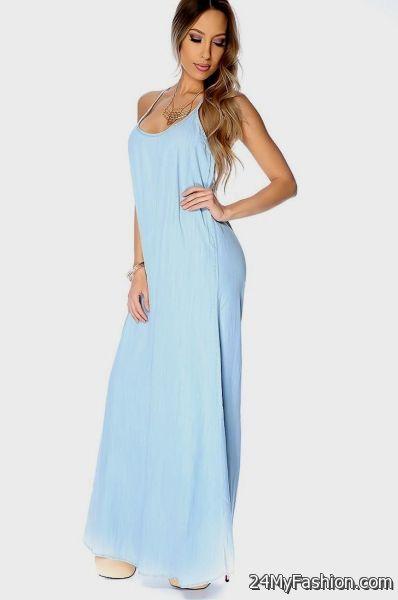 Light Blue Petite Dresses
