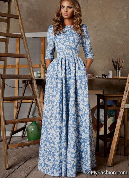 Maxi dress designs 2018 ford