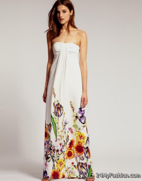 Maxi dress fashion article 2018
