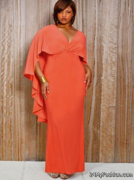 coral maxi dress plus size 2017-2018 | B2B Fashion