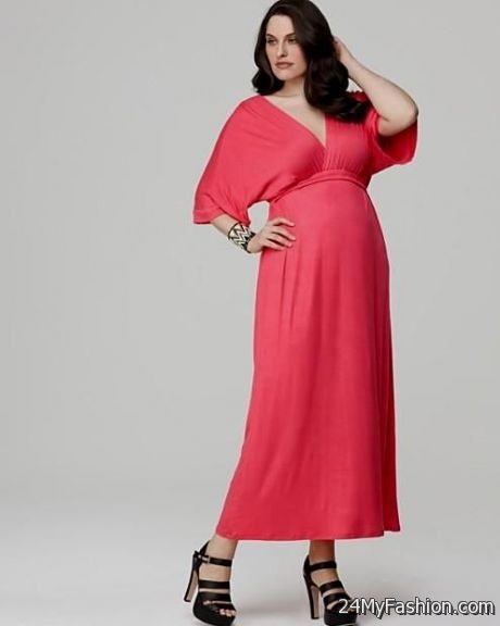 coral maxi dress plus size 2017-2018 | B2B Fashion
