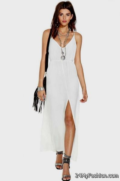 cute maxi dresses for summer 2017-2018 » B2B Fashion
