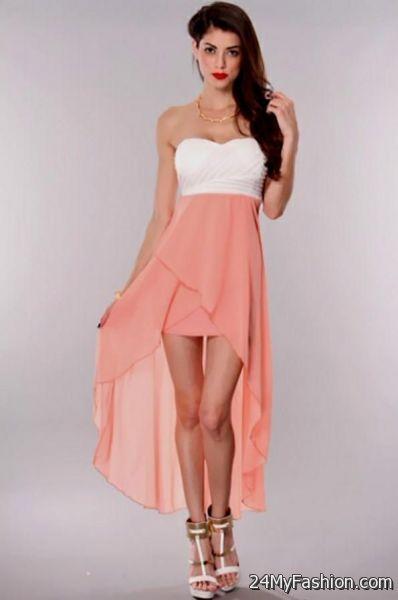 high low dresses for teenagers 2017-2018 | B2B Fashion
