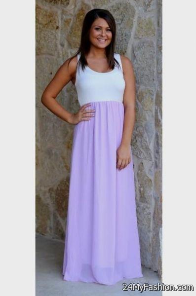 lavender maxi dress 2017-2018 » B2B Fashion