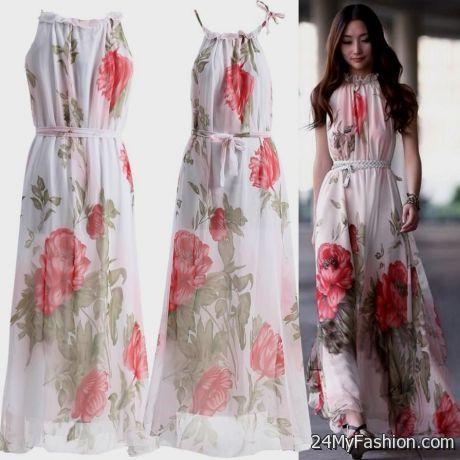 Long Casual Beach Dresses