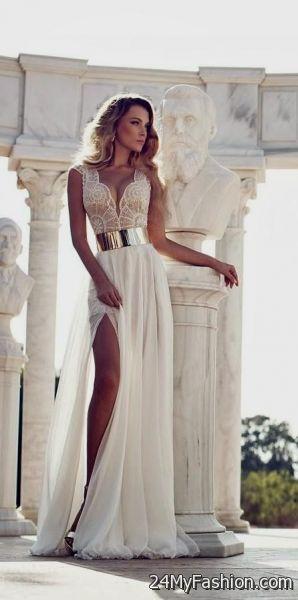 long flowy white maxi dress 2017-2018 | B2B Fashion