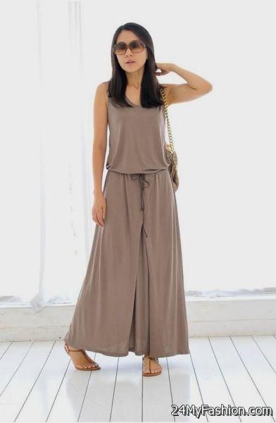 Maxi summer dresses 2018