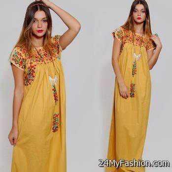 Mexican maxi dresses