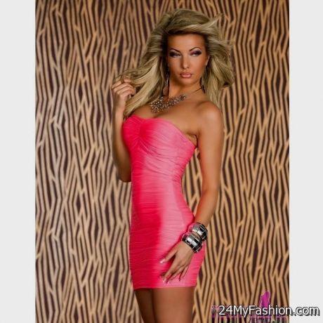 pink mini dresses clubbing 20172018 b2b fashion