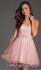 Short Prom Dresses 2018 Pink 65