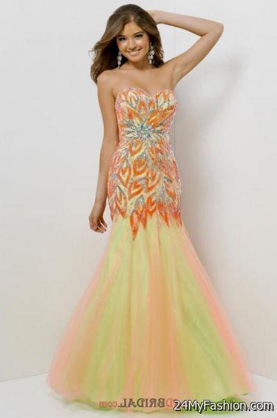 prom dresses mermaid style 2017-2018   B2B Fashion