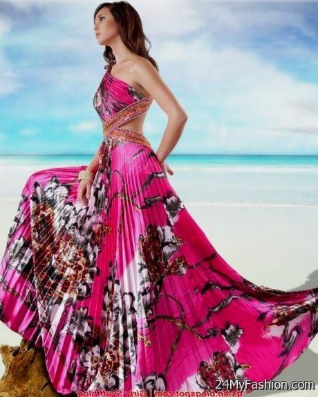 Sexy Long Summer Dresses 2017 2018 B2b Fashion
