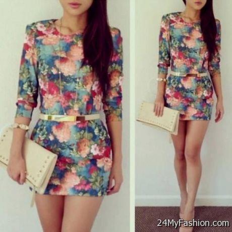 Tight Floral Dresses Tumblr
