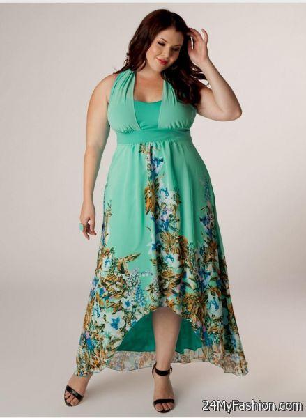 Turquoise Maxi Dress Plus Size 2017 2018 B2b Fashion