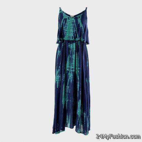 Tie Dye Maxi Dresses 2018
