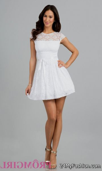 c66f1809ec8 White high school graduation dresses 2018-2019. So don t you want to appear  distinguish and remarkable among others  Obviously