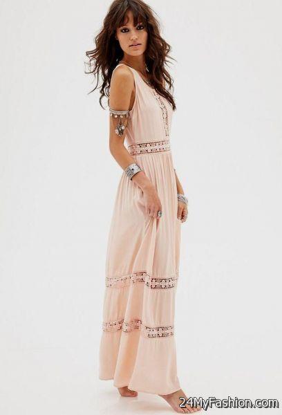 Lace Maxi Dresses 2018