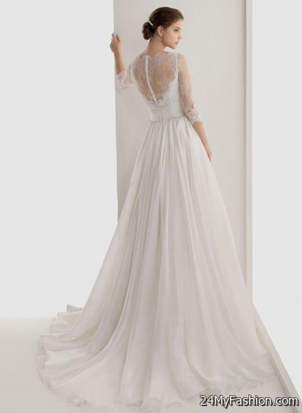white maxi dress wedding 2017-2018 | B2B Fashion