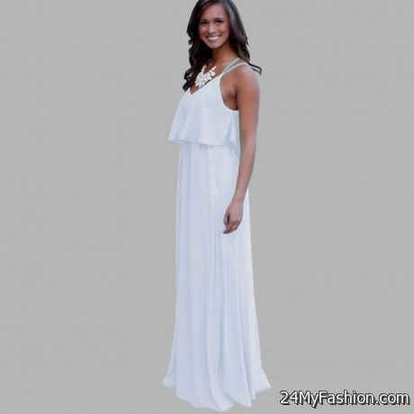 8f45ec8c3b19 The Solid Petite Maxi Dress is an awesome decision for occasion wear.  Highlighting a creased neck area and keyhole complement