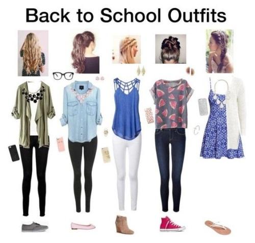 Back-to-School Outfit Ideas 2017-2018 | B2B Fashion