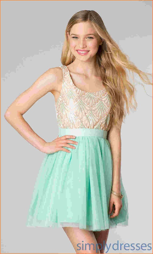 Youth Short Casual Dresses