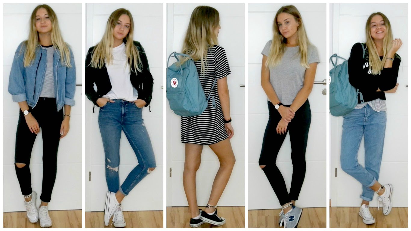 Back-to-School Outfit Ideas 2017-2018