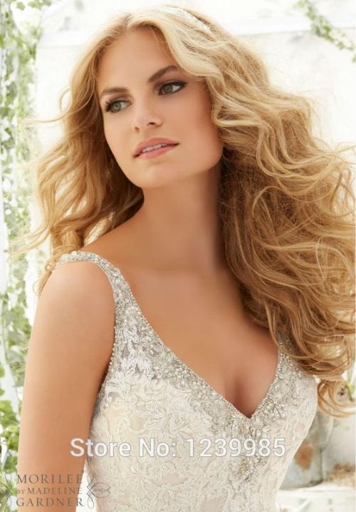 1EW405-Fashionable-Sexy-V-Neck-Backless-Lace-Mermaid-Wedding-Dress-2017-White-Dresses-For-Charming-Bride