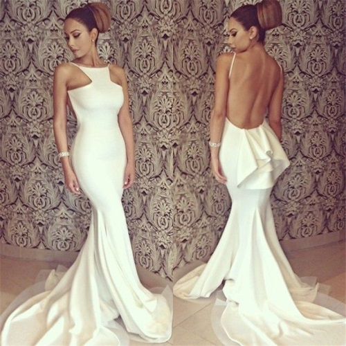 2017-Fashion-Women-Bridesmaid-White-Sexy-Full-Length-Backless-Off-shoulder-Fishtail-Mermaid-font-b-Formal