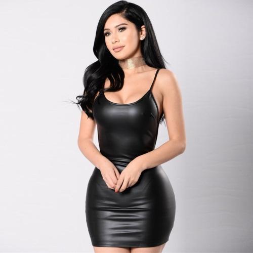 Bodycon-Faux-PU-font-b-Leather-b-font-font-b-Dress-b-font-Women-Sexy-Backless
