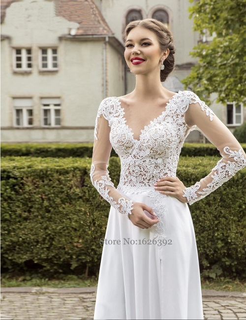 Hot-Sexy-Open-Backless-Lace-Wedding-Dress-Gowns-2017-Side-Split-See-Through-Long-Sleeve-Bridal