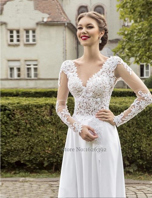 Backless Lace White Dress 2017 2018 B2b Fashion
