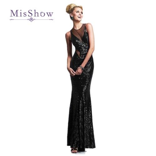 MisShow-2017-Sexy-Women-s-Black-Mermaid-Maxi-font-b-Dress-b-font-O-Neck-font