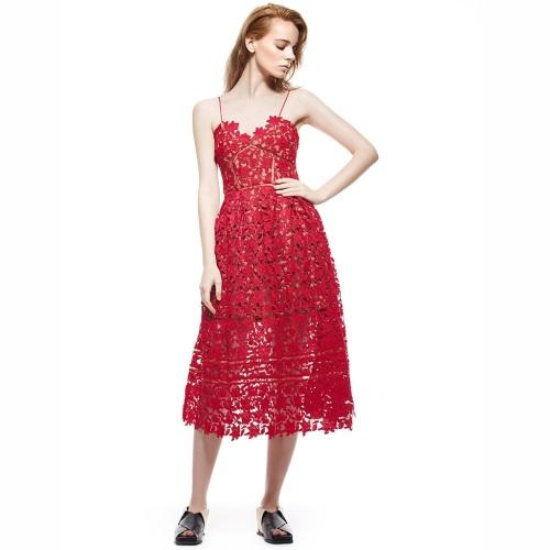 Summer-Dresses-2017-Women-s-Sexy-Spaghetti-Strap-Lace-Mid-Calf-Dress-Crochet-V-Neck-Backless