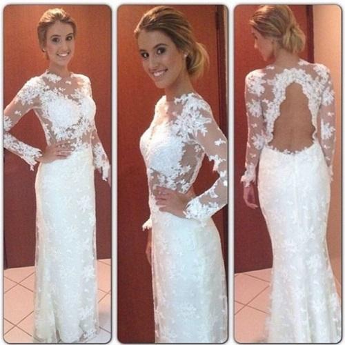-font-b-Prom-b-font-font-b-Dresses-b-font-Gorgeous-Mermaid-font-b-White
