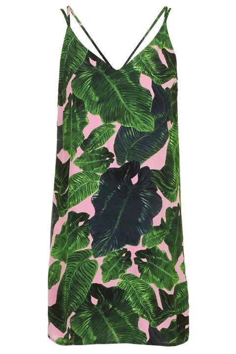 palm-print-crossback-slip-dress