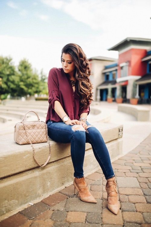 Fashion week Fall Casual outfits foto pictures for lady