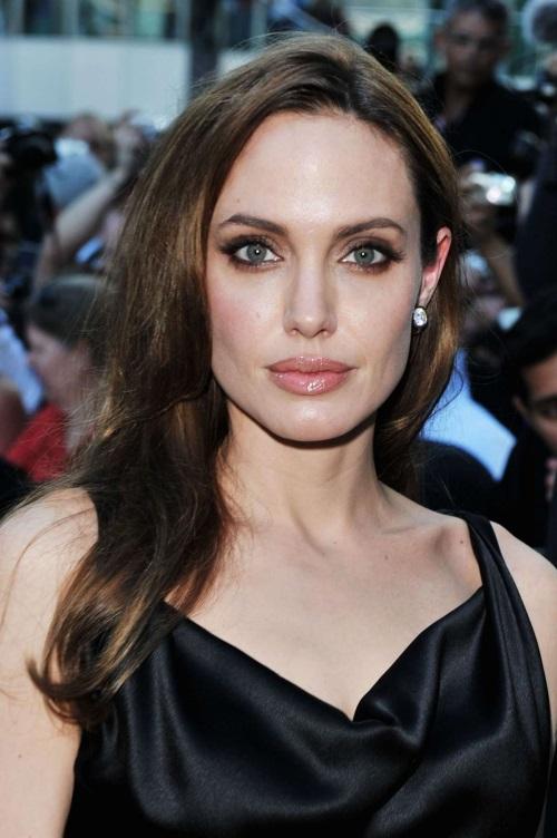 Angelina Jolie Black Dress 2017 2018 B2b Fashion