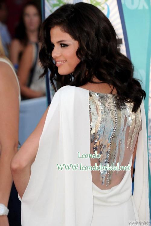 Selena Gomez White Dress 2017 2018 B2b Fashion
