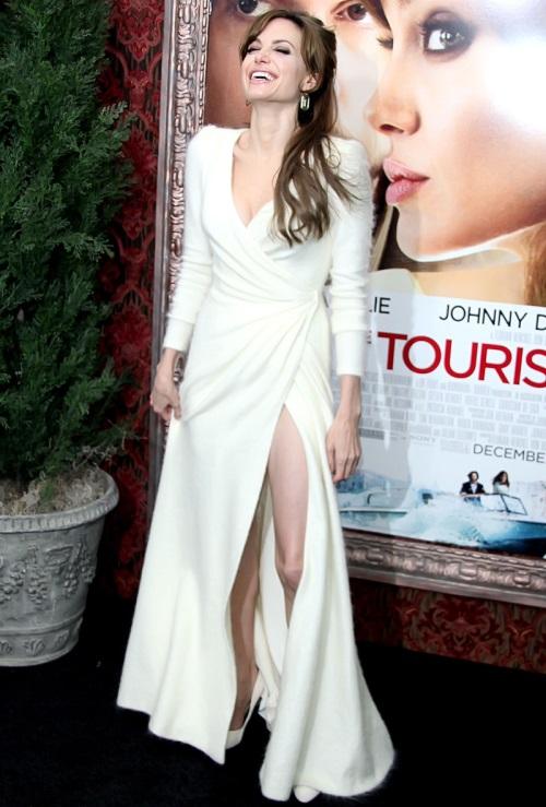 Angelina Jolie Dresses White 2017 2018 B2b Fashion