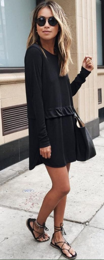 Little Black Dress Outfit Casual
